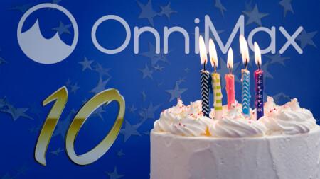 Onnimax Oy viettää kymmenvuotisjuhliaan!